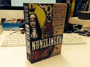 Nunslinger front of paperback