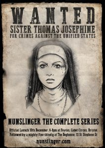 Wanted poster Sister Thomas Josephine from Nunslinger