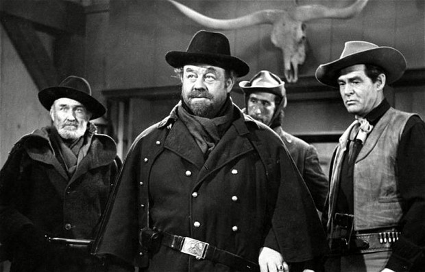 Burl Ives in day of the Outlaw