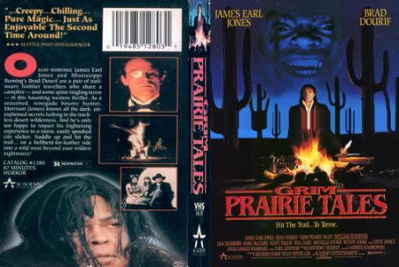 VHS cover of Grim Prairie Tales