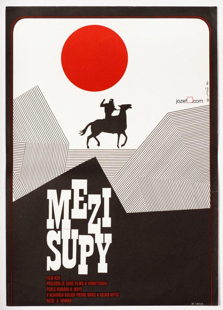 Czech poster for Frontier Hellcat