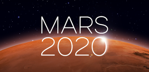 Title screen for Mars 2020 from BBC Taster