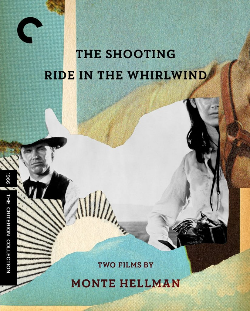 Criterion Collection cover for The Shooting and Ride in the Whirlwind