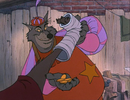 Sheriff Nottingham in Disney's Robin Hood