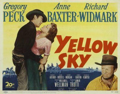 Yellow Sky Poster 1948