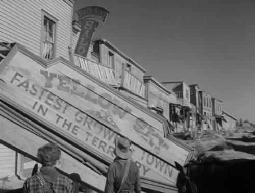 Town of Yellow Sky in Yellow Sky 1948