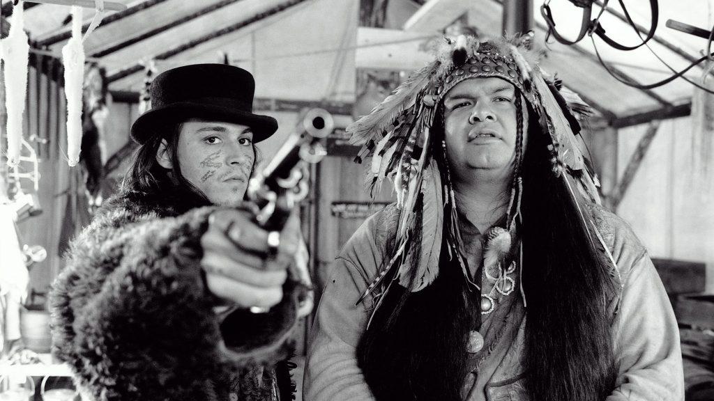 Johnny Depp and Gary Farmer in Dead Man 1995