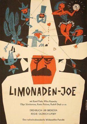 East German poster for Lemonade Joe