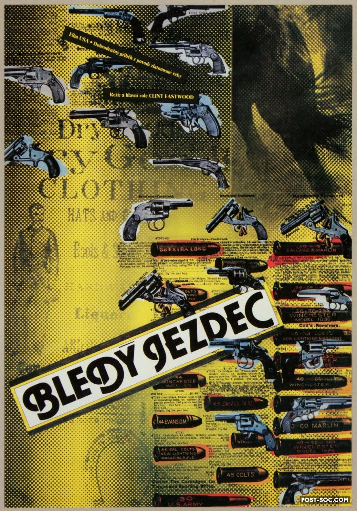 Czech poster for Pale Rider