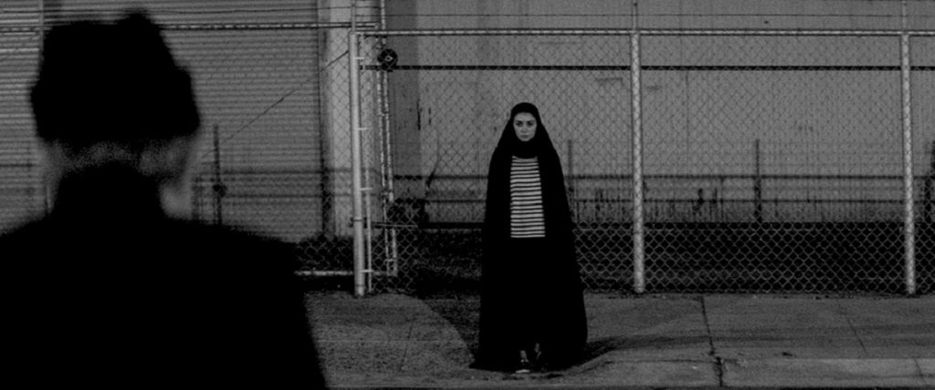 A Girl Walks Home Alone at Night western