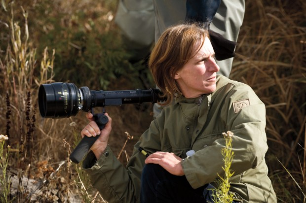 kelly reichardt on set