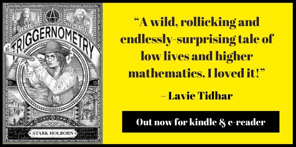 quote from Lavie Tiidhar about Triggernometry