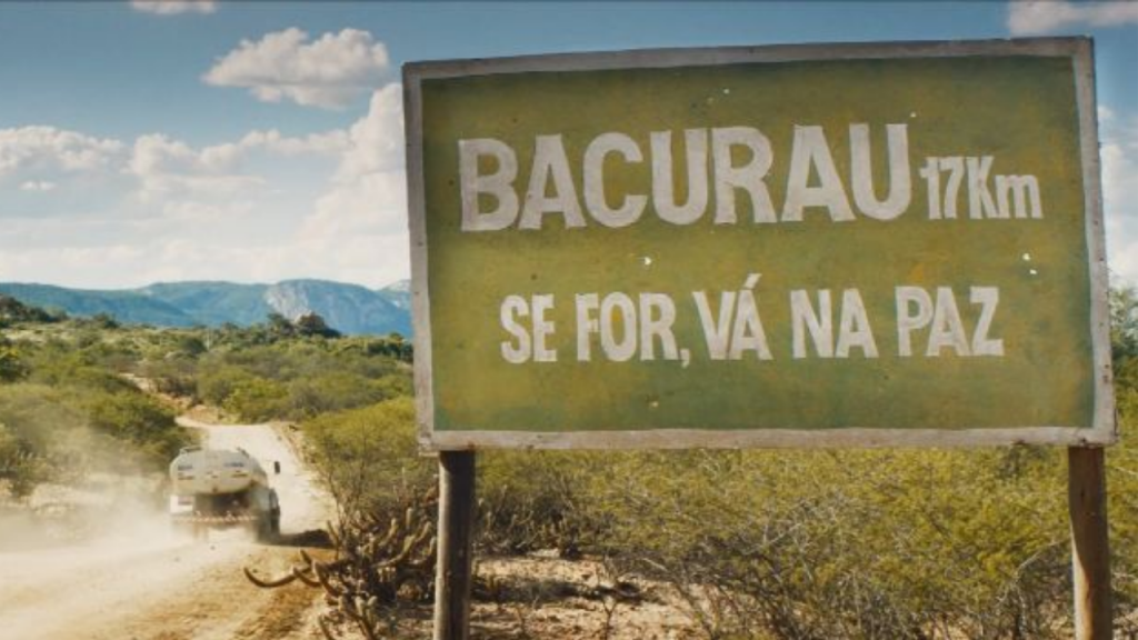 Sign of town of Bacurau